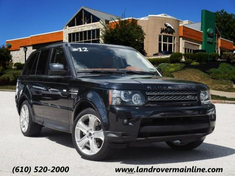 Pre-Owned 2012 Land Rover Range Rover Sport HSE LUX 4WD