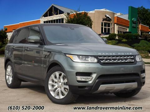 New 2017 Land Rover Range Rover Sport HSE With Navigation & AWD