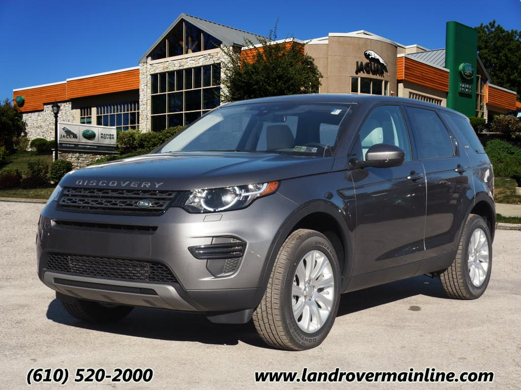 new 2017 land rover discovery sport se awd se 4dr suv in wayne rh9323 land rover main line. Black Bedroom Furniture Sets. Home Design Ideas