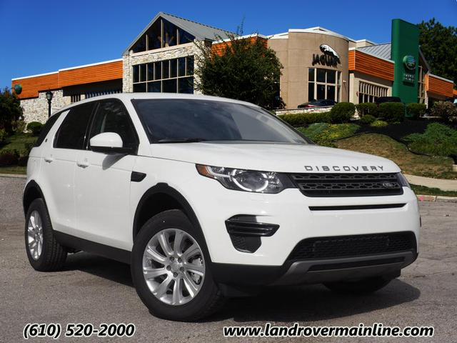 New 2017 Land Rover Discovery Sport SE AWD