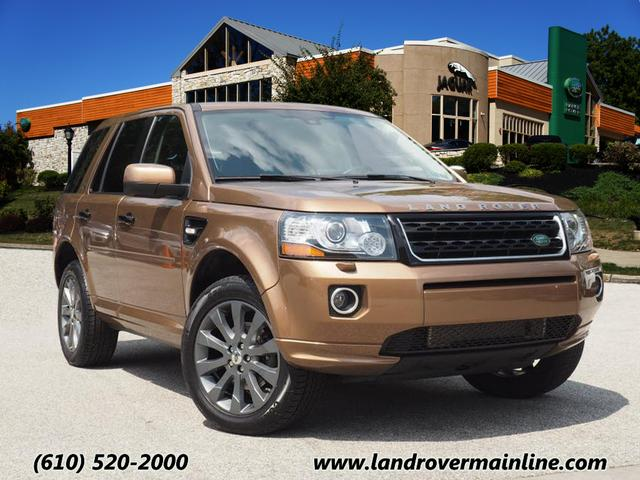 Certified Pre-Owned 2014 Land Rover LR2