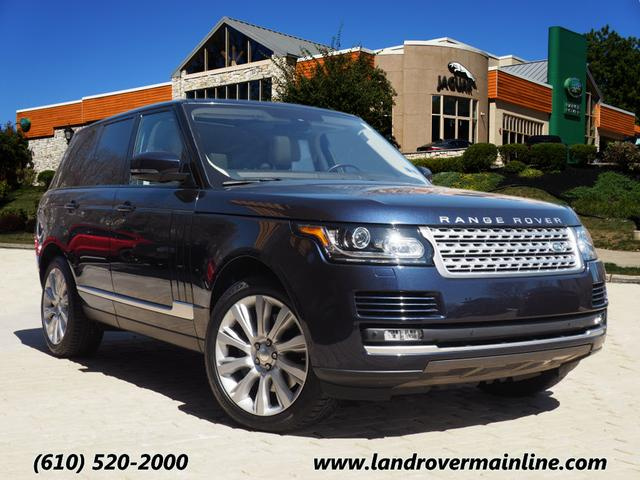 Pre-Owned 2014 Land Rover Range Rover Supercharged 4WD