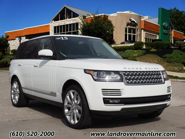 Certified Pre-Owned 2015 Land Rover Range Rover Supercharged 4WD