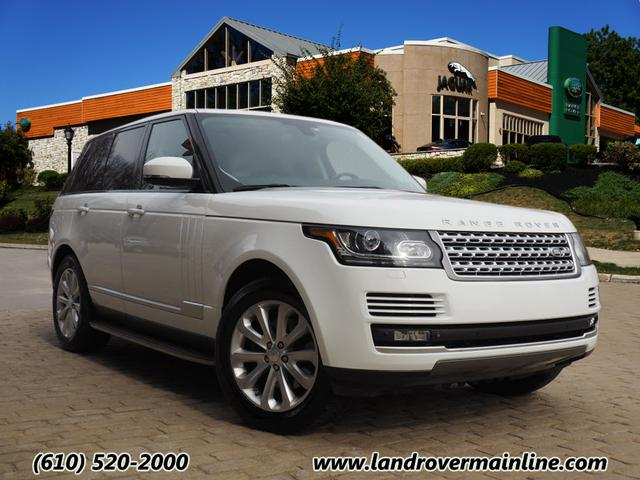 Certified Pre-Owned 2014 Land Rover Range Rover HSE 4WD