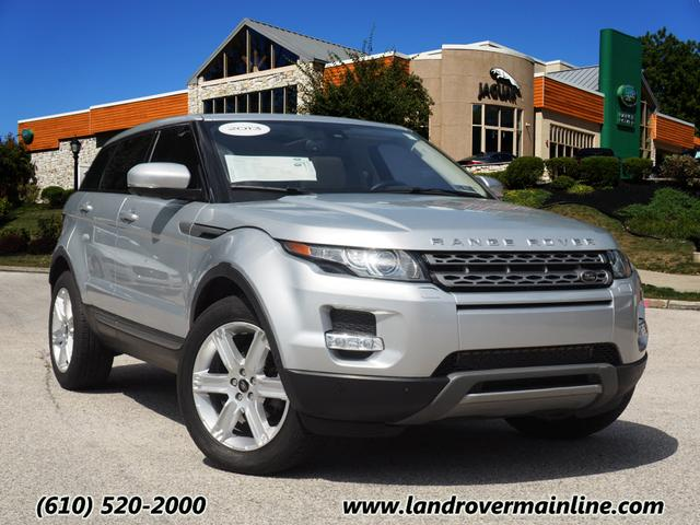 Certified Pre-Owned 2013 Land Rover Range Rover Evoque Pure Premium