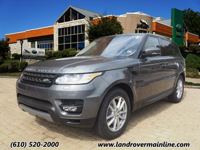 new 2016 land rover range rover sport se td6 awd se td6. Black Bedroom Furniture Sets. Home Design Ideas