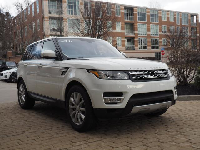 pre owned 2016 land rover range rover sport supercharged awd supercharged 4dr suv in wayne. Black Bedroom Furniture Sets. Home Design Ideas
