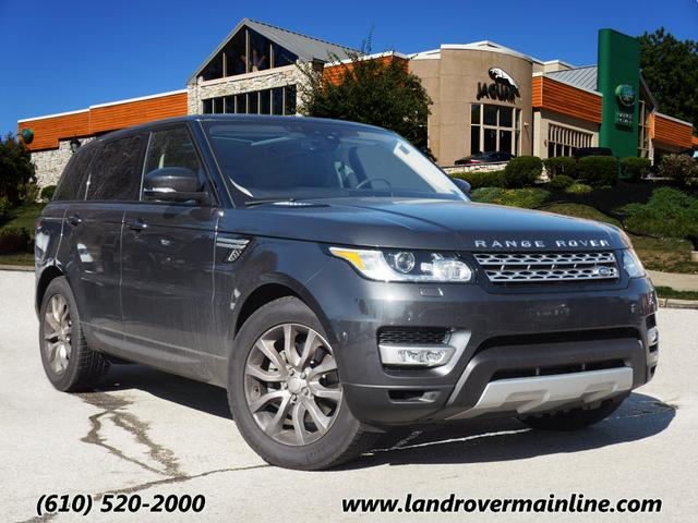 New 2017 Land Rover Range Rover Sport HSE Td6 With Navigation & AWD