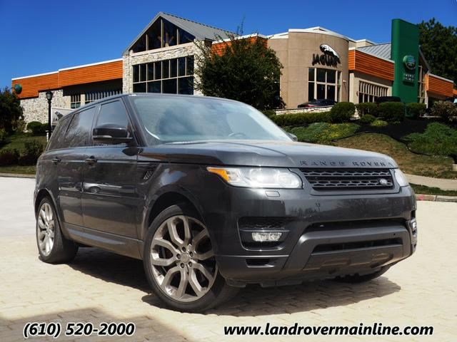Pre-Owned 2015 Land Rover Range Rover Sport Supercharged 4WD