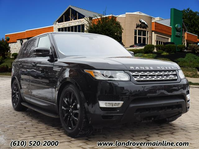 Certified Pre-Owned 2016 Land Rover Range Rover Sport HSE AWD